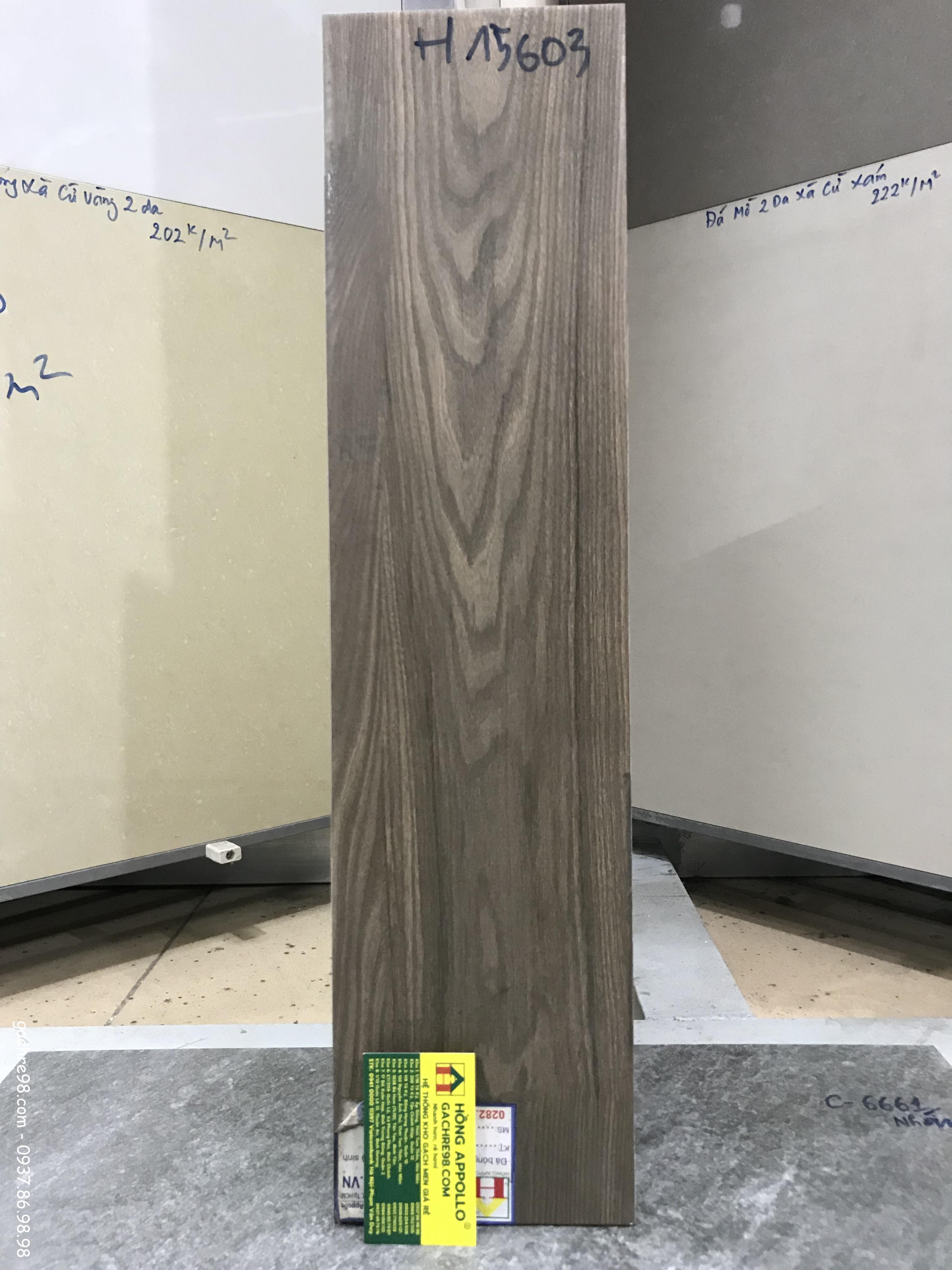 Gạch giả gỗ viglacera 15x60 giá rẻ nhất
