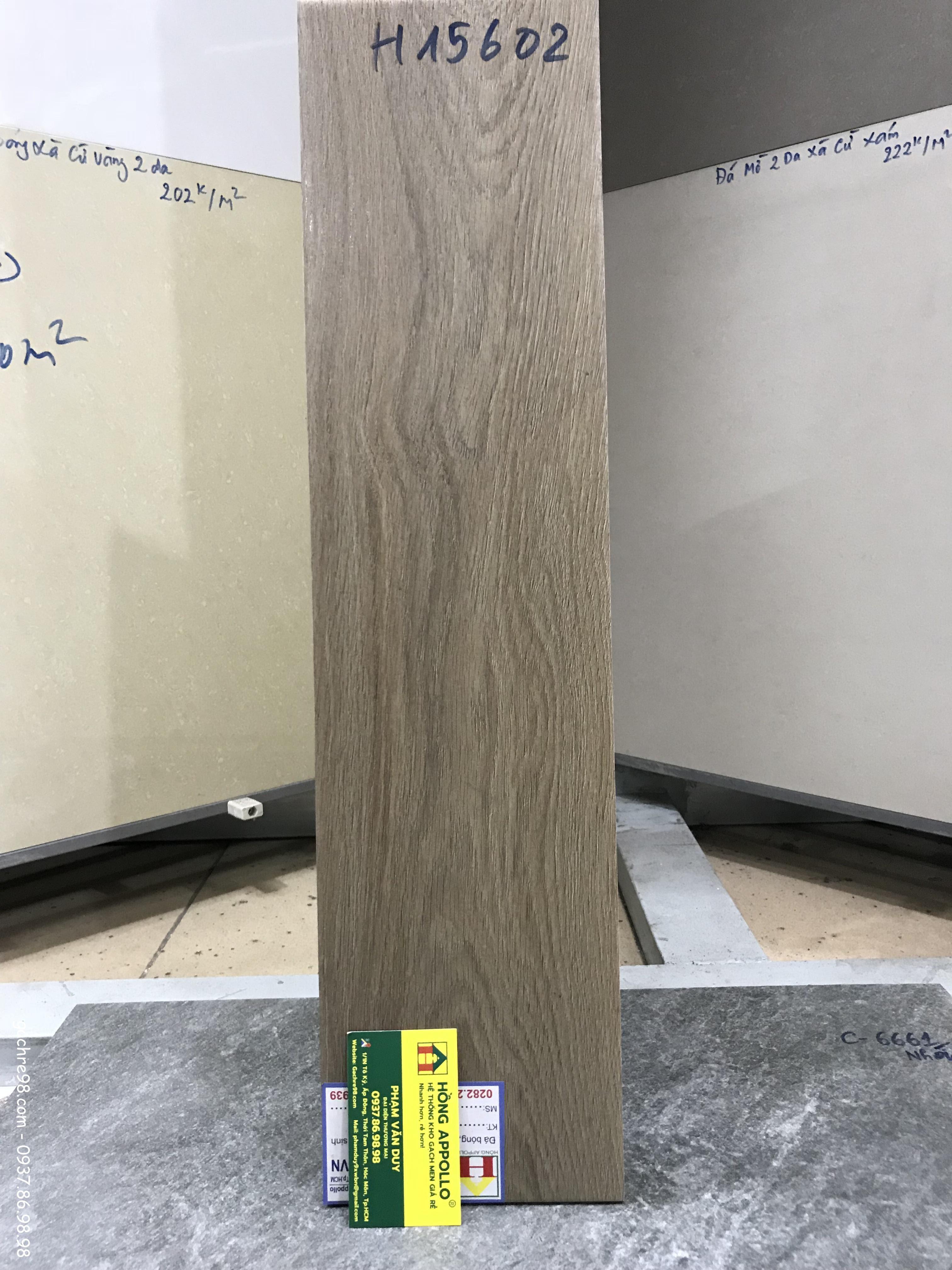Gạch lát sàn 15x60 giả gỗ