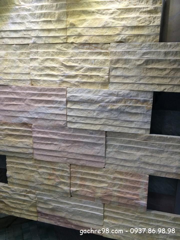 Đá tự nhiên ốp tường trang trí tại tphcm