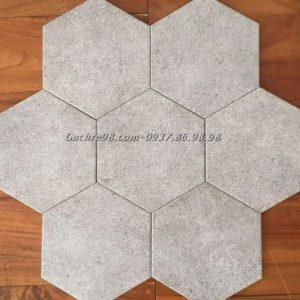 Gạch lục giác màu kim loại