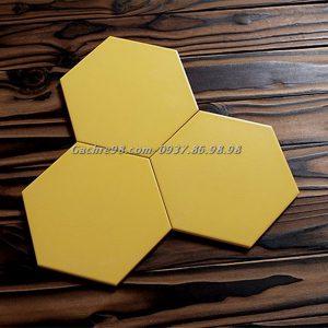 Gạch lục giác màu vàng