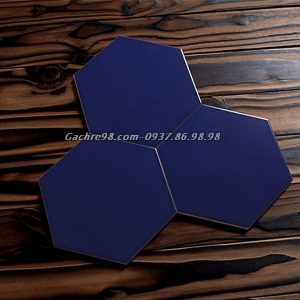 Gạch lục giác màu xanh