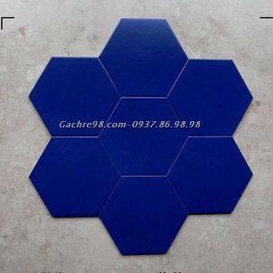 Gạch lục giác xanh sậm