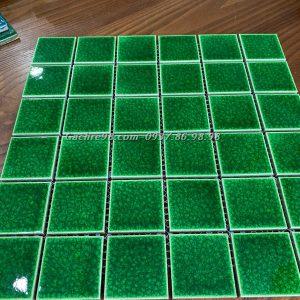 Gạch mosaic gốm rạn