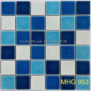 Gạch mosaic gốm rạn cao cấp