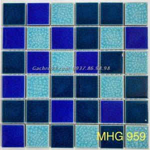 Gạch mosaic men rạn