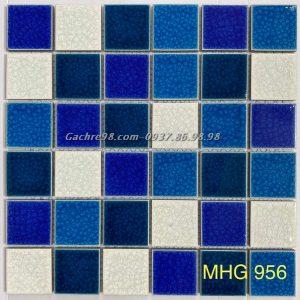 Gạch mosaic men rạn cao cấp