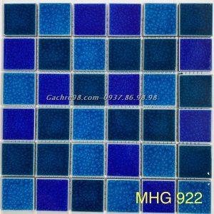 Gạch mosaic gốm rạn đẹp