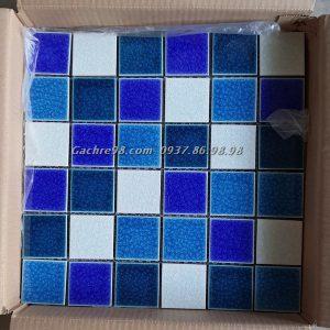Gạch mosaic men rạn đẹp hcm