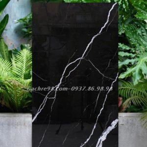 Gạch đen vân trắng 600x1200 cao cấp