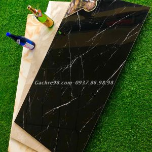 Gạch đen vân trắng 60x120 hcm
