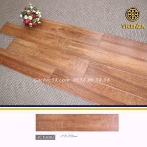 Gạch lát nền giả gỗ óc chó 15x80
