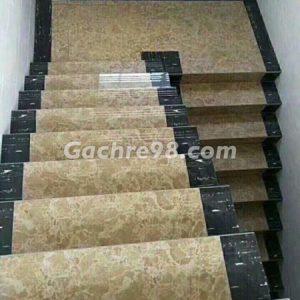 Gạch giả đá hoa cương lát cầu thang