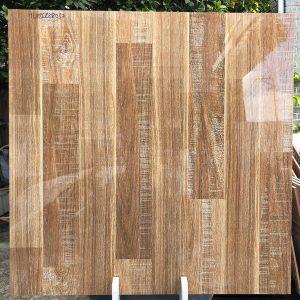 Gạch lót sàn 80x80 đá bóng kiếng vân gỗ