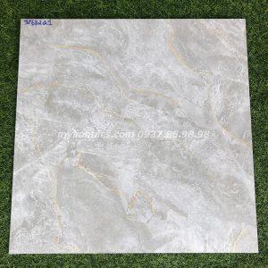 Gạch lót sàn 60x60 vân đá màu xám hcm