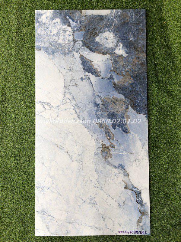 Gạch vân đá màu xanh tây ban nha 60x120