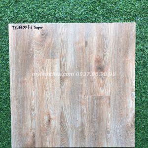 Gạch giả vân gỗ 60x60 nhám hạt đường