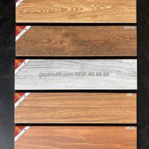 Gạch gỗ 15x60 màu sậm